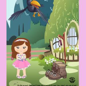 کتاب هانیه و درختش، دختر کوچولو و کلاغ ، ماجرای کفش