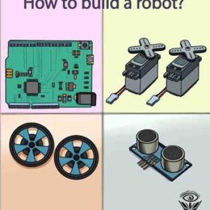 پشت جلد کتاب چگونه یک ربات بسازیم نوشته علیرضا بوستانی