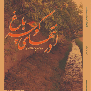 کتاب مجموعه اشعار در انتهای کوچه باغ